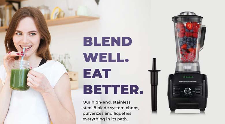 cleanblend-commercial-blender-features